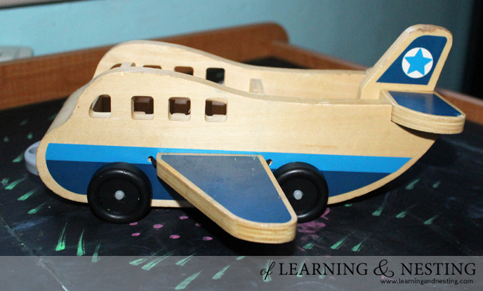 2015 Toddler Gift Guide - Melissa and Doug wooden plane