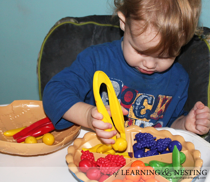 2015 Toddler Gift Guide - Learning Resources Sorting Pie
