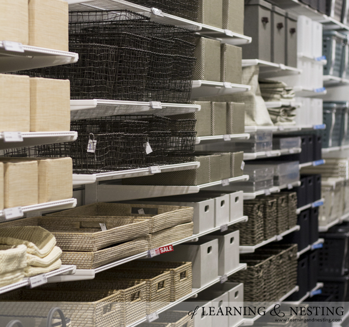 The Container Store #containnovi | of Learning and Nesting