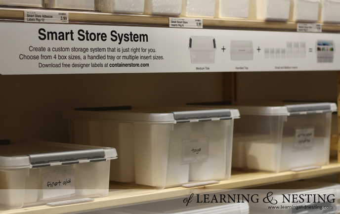 The Container Store, Smart Store System | of Learning and Nesting
