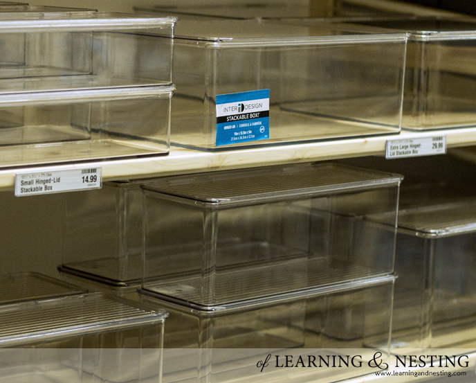 The Container Store | of Learning and Nesting